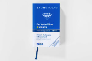 Der Varta-Fuehrer 2020 Cover. Die Datei ist ein Foto im JPEG-Format.