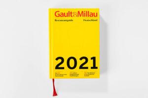 Gault & Millau 2021 Cover. Die Datei ist ein Foto im JPEG-Format.