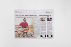 Silio Del Fabro in der Saarbruecker Zeitung von Donnerstag, 22. Oktober 2020. Die Datei ist ein Foto im JPEG-Format.