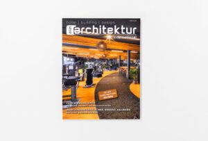 architektur international 2021 Cover. Die Datei ist ein Foto im JPEG-Format.