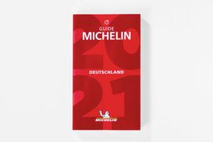 Guide Michelin 2021 Cover. Die Datei ist ein Foto im JPEG-Format.